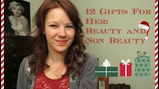 My god, it is the holiday season,I really wanted to do a gift video that included beauty items and non beauty ones in order to help people that are buying gifts for girls that are not into those kind of things. I hope you all found this helpful!!!My camera is the Canon sx50 hsI got an Instagram!!! heatherelizabeth121Follow Me on Twitter!! https://twitter.com/helizabeth121Come Follow My Pinterest Addiction: http://pinterest.com/heatherbees91/Any inquiries relating to my YouTube Channel, such as Product Reviews contact me at:heatherelizabeth1212@gmail.com
