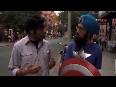 Totally Biased  Hari Kondabolu Reports on Sikh Captain America