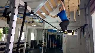 Working hard towards Ninja Warrior UK Season 2. Here is a training montage from sessions of mine over the past few months.