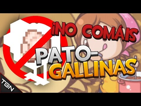 NO COMÁIS PATO-GALLINAS - (Cooking Mama, Mama Kills Animals)