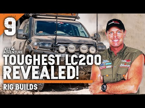 💀 THE WORLD'S TOUGHEST LC 200 SERIES 4WD TOURER — RIG BUILDS [9 of 9]