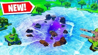 LOOT LAKE HAS FROZEN OVER!! - Fortnite Battle Royale!