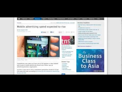 Mobile Marketing Set To Crank UP In New Zealand | OnPage 1 Media