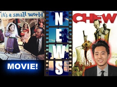 animated - Disney preps It's a Small World the movie! Plus Chew, from Image Comics, is set to become an animated movie with Steven Yeun as Tony Chu! http://bit.ly/subsc...