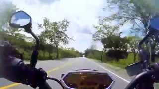 9. Kawasaki Z1000 2013 via valle colombia aceleracion 223kms