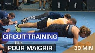 HIIT pour maigrir - Circuit training