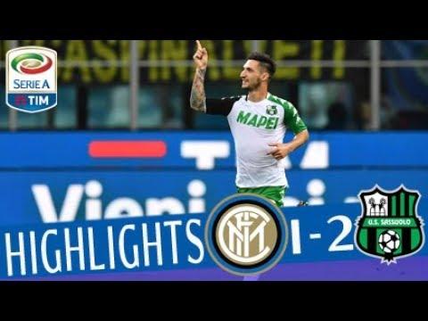 Inter - Sassuolo 1-2 - Highlights - Giornata 37 - Serie A TIM 2017/18