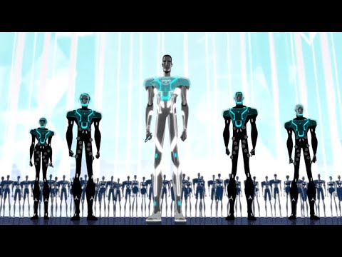 Chaos At Tron City / Flashback Scene | Scars (Part 1) | TRON: Uprising