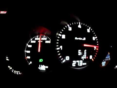 accelerazione 0-333 km/h porsche 911 turbo s