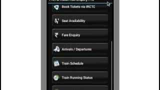 Indian Rail Info App PRO YouTube video