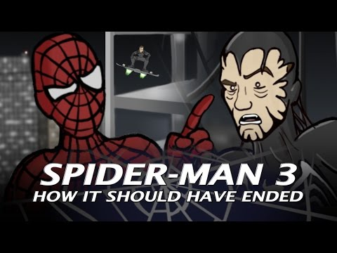Spider - How Spider-Man 3 Should Have Ended Get your HISHE shirts now: http://howitshouldhaveended.spreadshirt.com/ http://www.howitshouldhaveended.com Let's face it,...