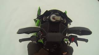 6. Riding to work on the 2013 arctic cat 800rr