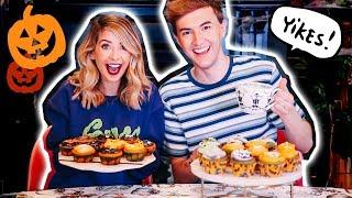 Video Halloween Cupcake Bake Off Challenge | Zoella MP3, 3GP, MP4, WEBM, AVI, FLV Oktober 2018