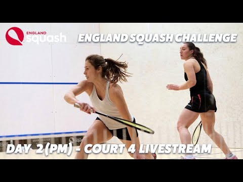 AJ Bell England Squash Challenge - Court 4 - Day 2 - Afternoon