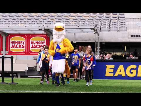 West Coast Eagles Ultimate Training Experience  on YouTube