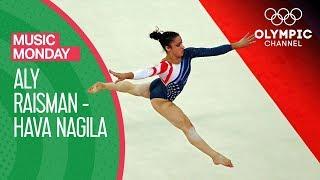 Artistic Gymnastics: Aly Raisman performs to Hava Nagila | Music Monday