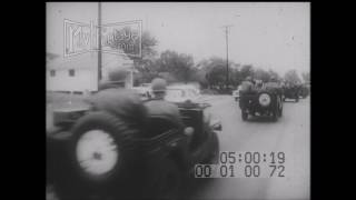 Oxford (MS) United States  city photos gallery : 1962 Civil Rights U.S.Army at Oxford, Mississippi Integration Stock Footage - HD