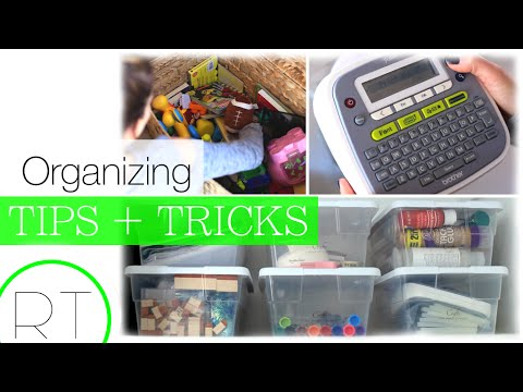 My Home Organizing Hacks + Tips