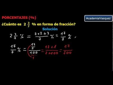 convertir de decimal a fraccion