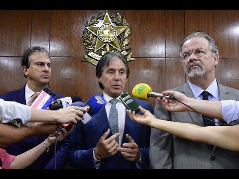 Ceará terá Centro de Inteligência e novos presídios, anunciam Eunício, Camilo e Jungmann