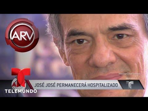 José José fue hospitalizado de emergencia (VIDEO)