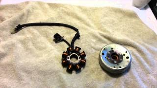 8. 2008 Polaris Sportsman 90 stator problem spark
