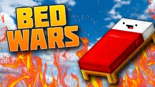 THE INVISIBLE MAN BED WARS CHALLENGE!! (Minecraft BEDWARS)