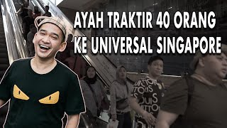 Video The Onsu Family - AYAH TRAKTIR 40 ORANG KE UNIVERSAL SINGAPORE MP3, 3GP, MP4, WEBM, AVI, FLV Juni 2019