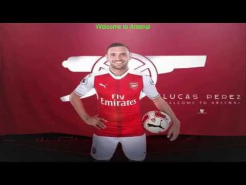 Lucas Perez: Welcome To Arsenal