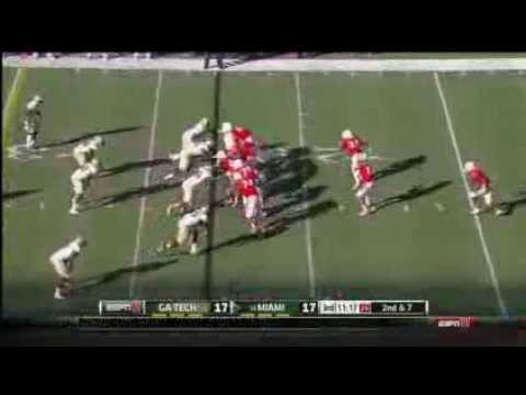 Duke Johnson vs Georgia Tech 2013 video.