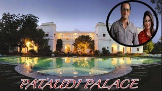 Saif Ali Khan's Pataudi Palace, Inside And Outside Photos Of  800 Crores Pataudi Palace
