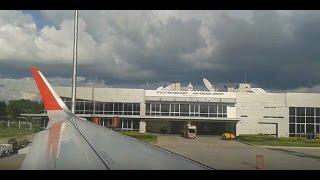 Nakhon Thai Thailand  city photo : AirAsia landing at Nan Nakhon Airport Nan Thailand