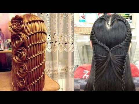 Easy hairstyles - Easy Beautiful Hairstyles Tutorials  Best Hairstyles for Girls # 14