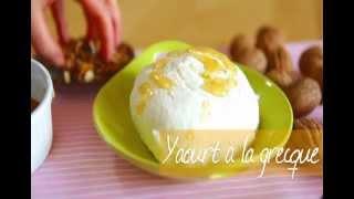 Faites votre yaourt grec vous-même !