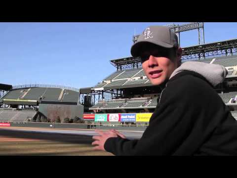 video:MLB Fan Cave Visit To Coors Field