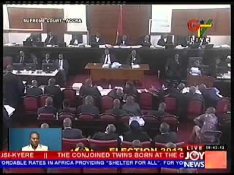 2012 Election Petition Hearing - Day 18 (16-5-13)