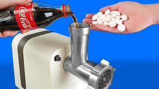 Video EXPERIMENT: MEAT GRINDER VS COCA COLA AND MENTOS MP3, 3GP, MP4, WEBM, AVI, FLV Mei 2019