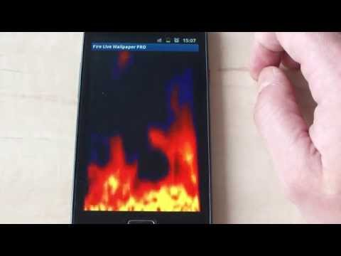 Video of Fire Live Walpaper FREE