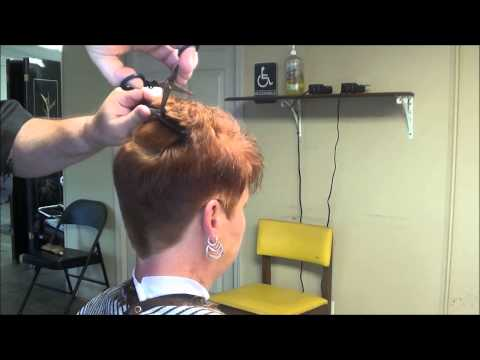 Women Haircut Stories In Barber Shops Design | Short Hairstyle 2013