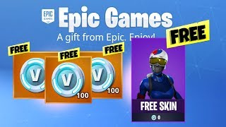 How to get FREE Fortnite HOLIDAY SKIN and VBUCKS *NEW*