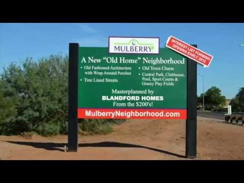 Mulberry Neighborhood (Blandford Homes) in Mesa, AZ