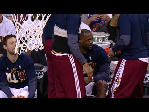 Video: LeBron James Mic'd Up in Game 1 Win Over Boston
