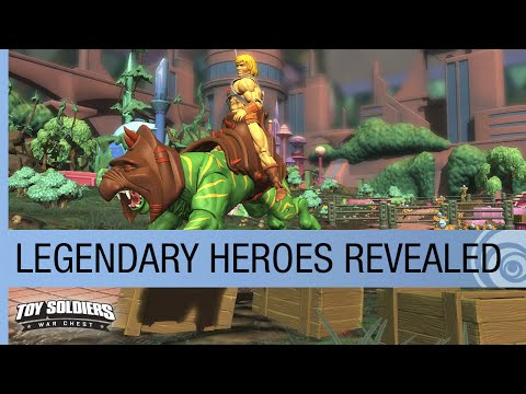 經典玩具大亂鬥!玩具題材的戰略遊戲《The Toy Soldiers: War Chest》預告公開