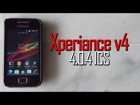 Best Xperia Z ROM!!! Xperiance v4 on Galaxy Ace GT-S5830