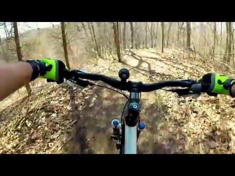 Serious Hills - Potawatomi Trail - Mountian Bike (видео)