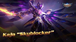 Kaja's New Skin | Skyblocker | Mobile Legends:Bang Bang!