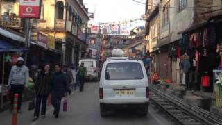 Kurseong India  city photo : Kurseong, India. Street scene.