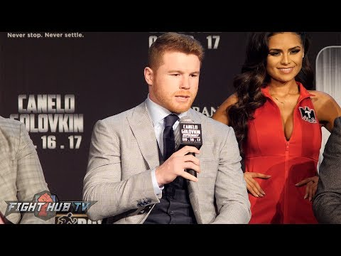 Canelo vs. Golovkin - The FULL New York Fan Q and A Session