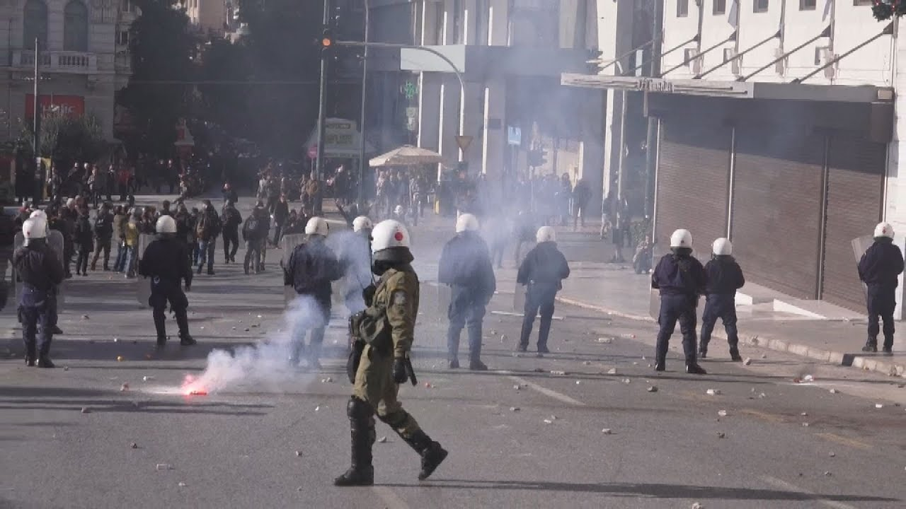Ολοκληρώθηκε η μαθητική πορεία για τα εννέα χρόνια από την δολοφονία του Αλ. Γρηγορόπουλου
