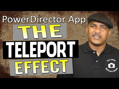 How to Teleport Like a Super Hero   PowerDirector Mobile Android iOS App
